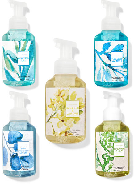Fresh Start Gentle Foaming Hand Soap, 5-Pack