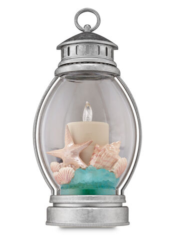 Beach Pillar Candle Nightlight Wallflowers Fragrance Plug