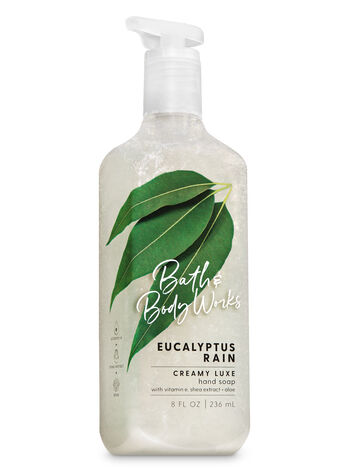 Eucalyptus Rain Creamy Luxe Hand Soap - Bath And Body Works