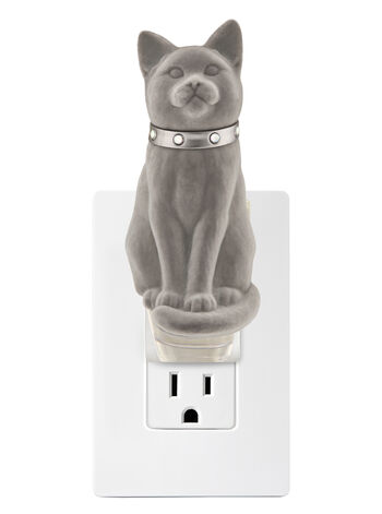 Cat with Collar Wallflowers Fragrance Plug