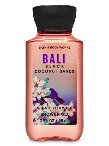 Bali Black Coconut Sands Travel Size Shower Gel - Bath And Body Works