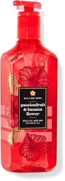 Passionfruit & Banana Flower Gentle Gel Hand Soap