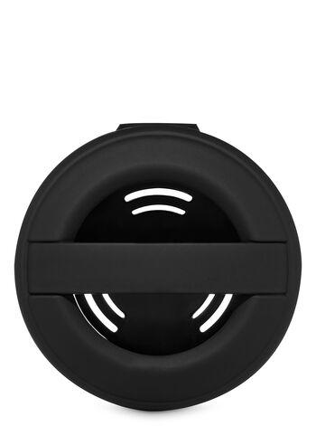 Black Soft Touch Vent Clip Car Fragrance Holder