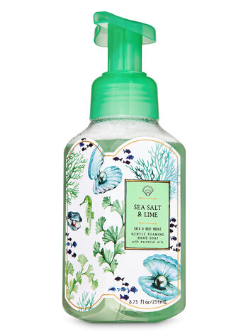 Sea Salt & Lime Gentle Foaming Hand Soap - Bath And Body Works