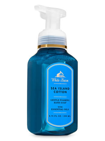 White Barn Sea Island Cotton Gentle Foaming Hand Soap - Bath And Body Works