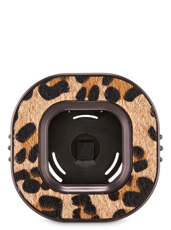 Cheetah Print Vent Clip Car Fragrance Holder