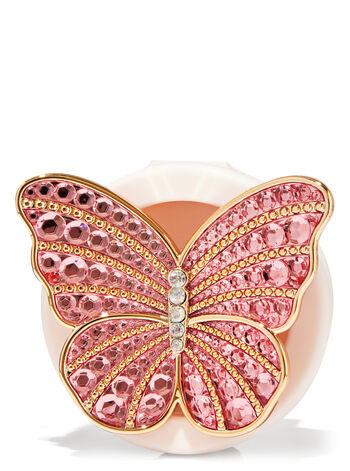 Gemstone Butterfly Visor Clip Car Fragrance Holder