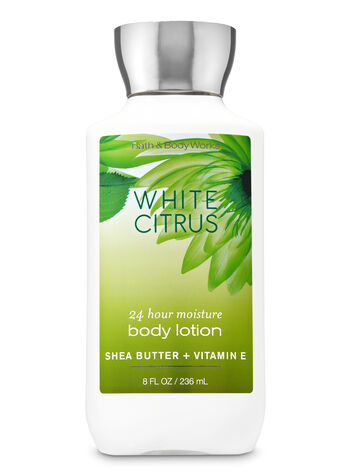 Signature Collection White Citrus Super Smooth Body Lotion - Bath And Body Works