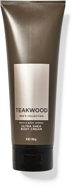 Teakwood Ultra Shea Body Cream