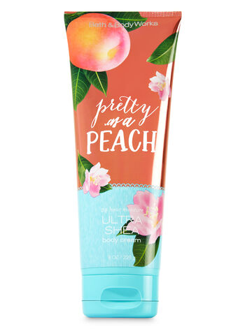 Signature Collection Pretty as a Peach Ultra Shea Body Cream - Bath And Body Works