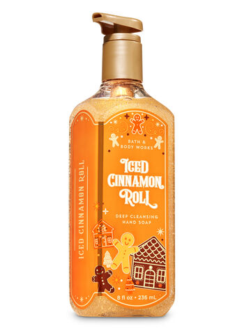 Iced Cinnamon Roll Deep Cleansing Hand Soap - Bath And Body Works