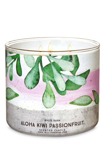 Aloha Kiwi Passionfruit 3-Wick Candle - Bath And Body Works
