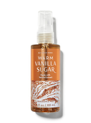 Warm Vanilla Sugar Travel Size Fine Fragrance Mist