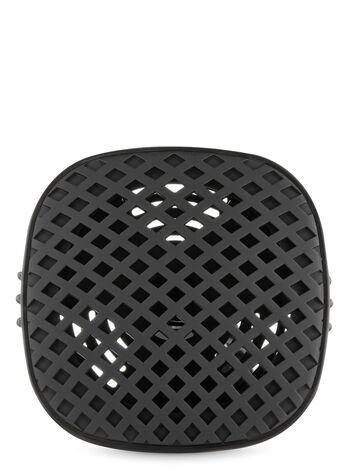Black Grid Vent Clip Car Fragrance Holder