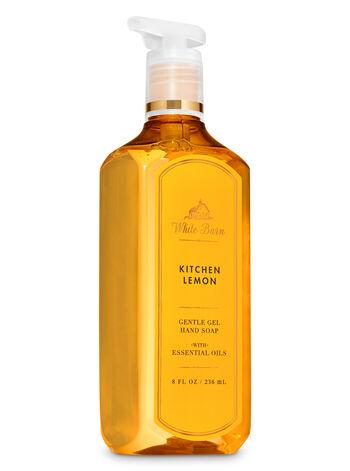 White Barn Kitchen Lemon Gentle Gel Hand Soap - Bath And Body Works