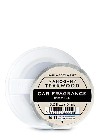 Mahogany Teakwood Car Fragrance Refill - Bath And Body Works