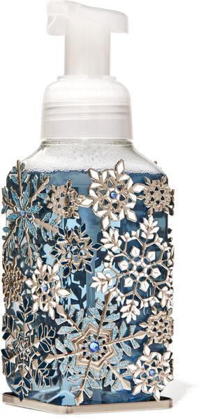 Jeweled Snowflakes Gentle Foaming Soap Holder