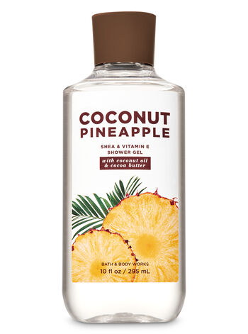 Coconut Pineapple Shower Gel - Bath And Body Works