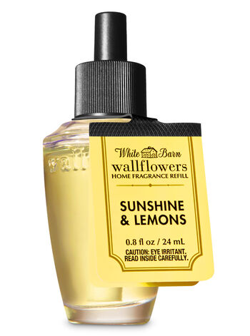 Sunshine & Lemons Wallflowers Fragrance Refill - Bath And Body Works