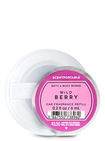 Wild Berry Car Fragrance Refill - Bath And Body Works