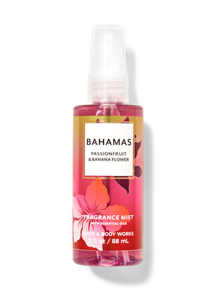 Bahamas Passionfruit & Banana Flower Travel Size Fine Fragrance Mist