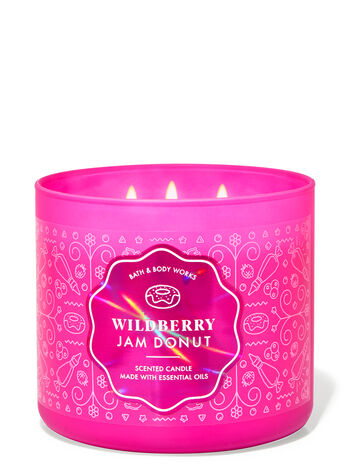 Wildberry Jam Donut 3-Wick Candle