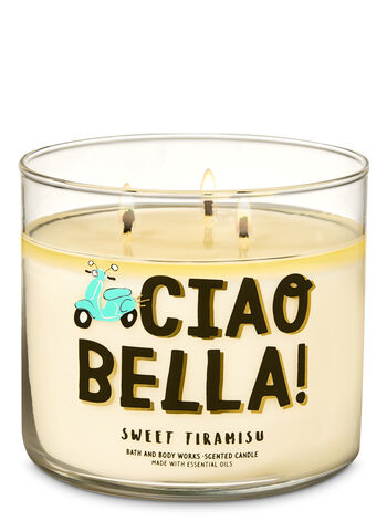 Sweet Tiramisu 3-Wick Candle - Bath And Body Works