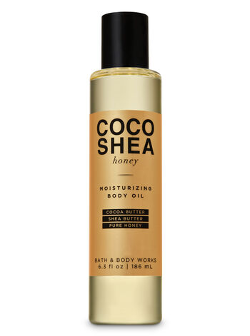 CocoShea Honey Moisturizing Body Oil - Bath And Body Works