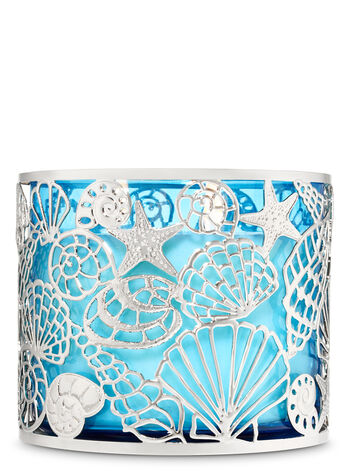 Sparkling Shells 3-Wick Candle Holder - Bath And Body Works