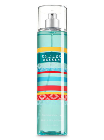 Signature Collection Endless Weekend Fine Fragrance Mist - Bath And Body Works