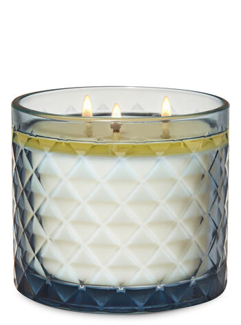 Smoked Vanilla 3-Wick Candle - Bath And Body Works