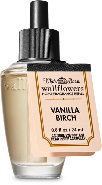 Vanilla Birch Wallflowers Fragrance Refill