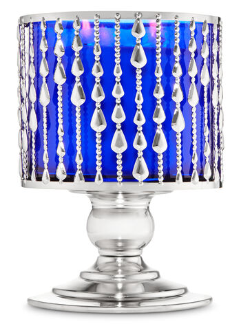 Beaded Pedestal 3-Wick Candle Holder - Bath And Body Works