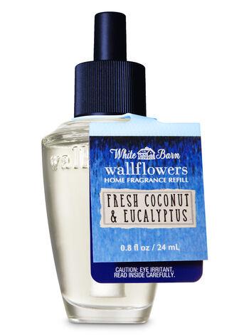 Fresh Coconut & Eucalyptus Wallflowers Fragrance Refill - Bath And Body Works