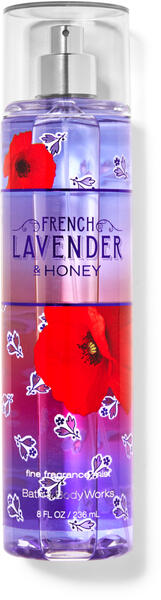French Lavender & Honey Fine Fragrance Mist