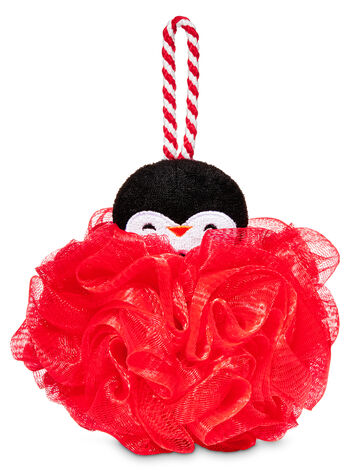 Red Penguin Loofah - Bath And Body Works