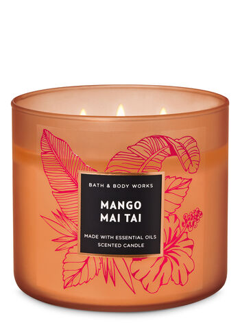 Mango Mai Tai 3-Wick Candle - Bath And Body Works
