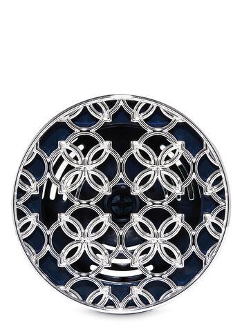 Overlapping Quatrefoil Vent Clip Car Fragrance Holder