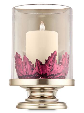 Pillar Candle with Leaves Nightlight Wallflowers Fragrance Plug