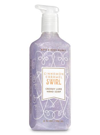 Cinnamon Caramel Swirl Creamy Luxe Hand Soap - Bath And Body Works