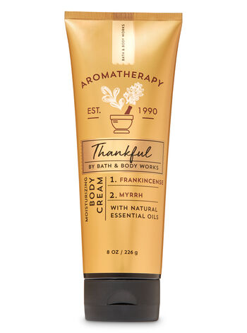 Aromatherapy Frankincense Myrrh Body Cream - Bath And Body Works