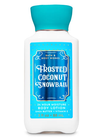 Frosted Coconut Snowball Travel Size Body Lotion - Bath And Body Works