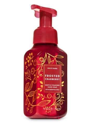 Frosted Cranberry Gentle Foaming Hand Soap - Bath And Body Works