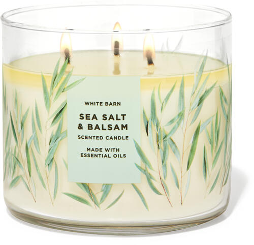 Sea Salt & Balsam 3-Wick Candle