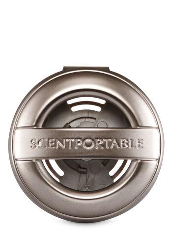 Pewter Vent Clip Car Fragrance Holder