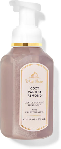 Cozy Vanilla & Almond Gentle Foaming Hand Soap