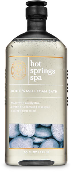 Hot Springs Spa Body Wash and Foam Bath