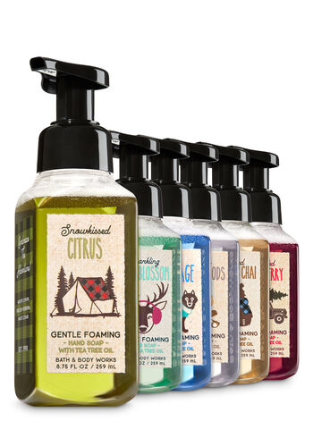 Camp Winter 6-Pack Gentle Foaming Soap - Bath And Body Works