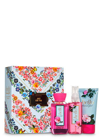 Hello Beautiful Mini Gift Box Set - Bath And Body Works