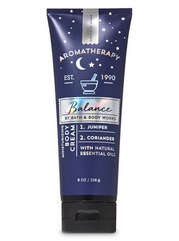 Aromatherapy Juniper Coriander Body Cream - Bath And Body Works